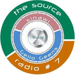 Sinawi b2b Gello Geens - The Source Radio #7