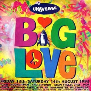 J.Bo Tape #21: Frankie Knuckles - Universe Big Love - 13Aug1993