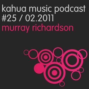 Kahua Music Podcast #25 - Murray Richardson