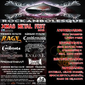 Rockanbolesque #114 Entrevista Rafa Vida (Prometheus-Xmas Fest)