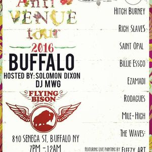 Anti-Venue Tour @ Flying Bison Brewing x Buffalo NY 10/1/16