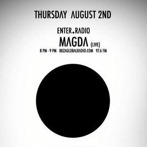 ENTER. radio show with Magda | Aug 2, 2012