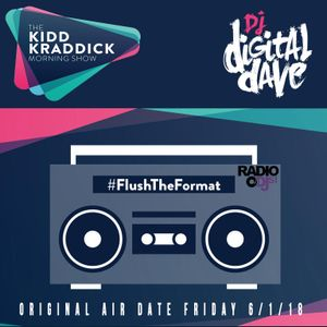 Digital Dave Live On The Kidd Kraddick Morning Show 6.1.18