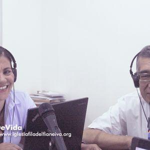 """OYENTES EN EL TEMA  """"La Justicia De Dios""""   Angela Buchelli y Con Jairo Paredes"""