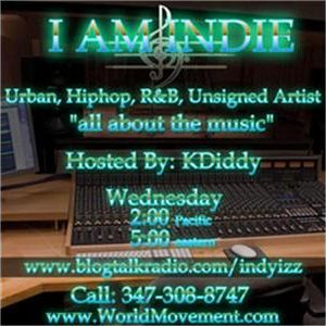 MACKADELICS HERE TODAY ON (I AM INDI) HOST KDIDDY