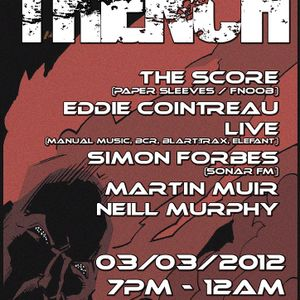 eddie cointreau (live) and the score recorded live @ loop presents trench at the halt 03/03/12
