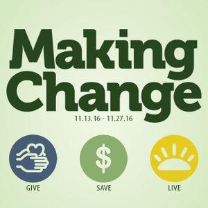 Making Change | Week 2 | SAVE