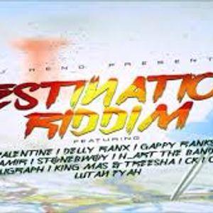 DJGASHI DESTINATION RIDDIM MIXTAPE 2017 January riddim