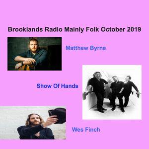 Brooklands Radio Mainly Folk October 2019