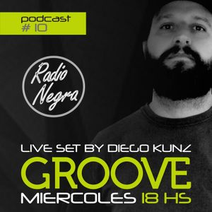 Groove Podcast #10 by Diego Kunz