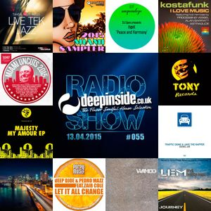 DEEPINSIDE RADIO SHOW 055 (Tony Records Label of the week)