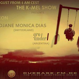 Monica Dias - THE K-MEL SHOW CUEBASE-FM.DE (GER) Podcast 067 (25.08.12)