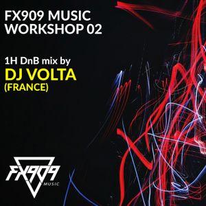 FX909 MUSIC Workshop 02 - DJ VOLTA