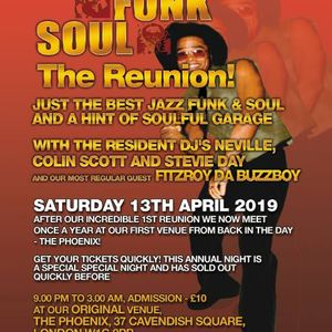 Fitzroy's Soul Surviving sets @ Jazzfunksoul(The Pheonix)Sat 13th April 2019