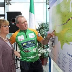 Local Matters: Team Youghal's Cyclist Brian Fitzgerald joins us.
