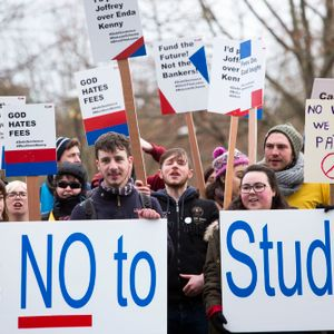 UL Protest - Chris Collins & Keelan O'Donnell