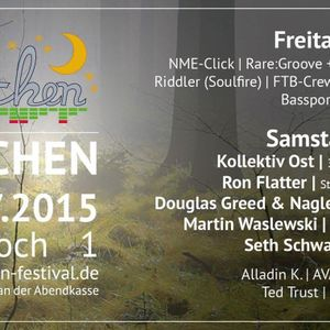 Promomixtape for the Waldrauschen Festival 2015