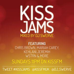 KISS JAMS MIXED BY DJ SWERVE 27 DEC 15