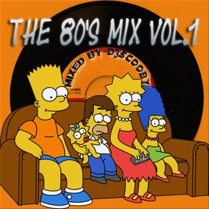 DJscooby The 80s Mix Vol.1