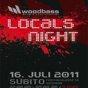dj rival & mc tazz, mc spilla @ woodbass 16.7.2011