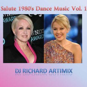 Salute 1980's Dance Music Vol. 1