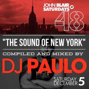 DJ PAULO-THE SOUND OF NEW YORK (Peaktime) Winter 2015