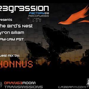 Nonnus Guest Mix for The Bird's Nest @ lazerfm.com (16/9/2012)