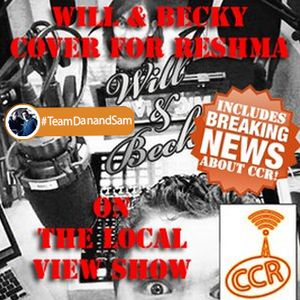 Will & Becky - 20/03/4 - (Covering for Reshma) on The Local View Show - Chelmsford Community