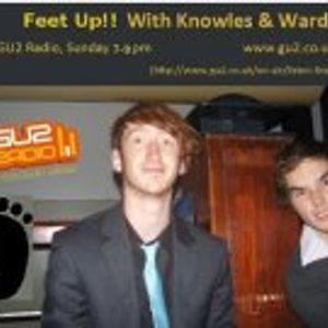 Feet Up! with Jimmy! Christmas Special- 9th December 2012 on GU2 radio