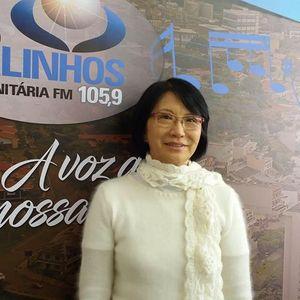 Entrevista com a farmacêutica e homeopata, Aurea Hokama, sobre gengibre e suas propriedades