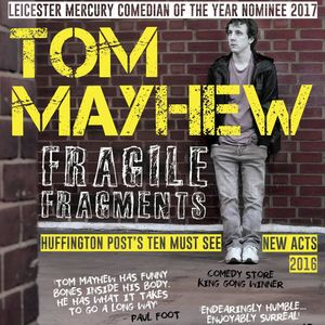 25/06/17 Tom Mayhew 'Fragile Fragments' Stand Up Comedy Interview on Sunday Storm with Bolt and Bark