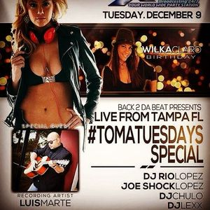 Back To The Beat Toma Tuesday Special Part 1 - Live from Tampa, FL 12- 9-14