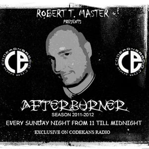 AFTERBURNER on CODEKANS RADIO 23-10-11 - ROBERT T. MASTER special LIVE SESSION