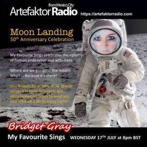 Episode 05 - My Favourite Sings - Artefaktor Radio - 20190717 Moon Landing Special