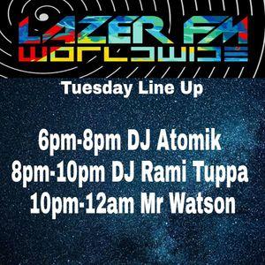 26.06.17 Atomik DnB Radio-Active Show @ Lazer FM Worldwide
