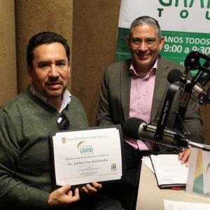 Guía Cimarrón: Carlos Cruz Archundia, Director de la agencia de viajes Turibaja.