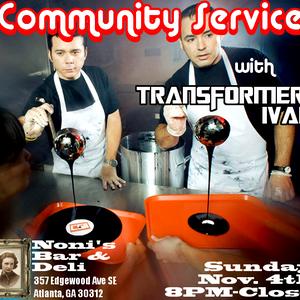 Community Service - November 2012, Sample 1