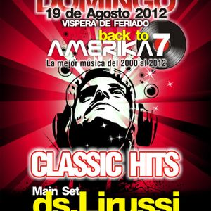 Back to AMERIKA 7 - Classic Night - Agosto 2012 @ Amerika, Buenos Aires, Argentina