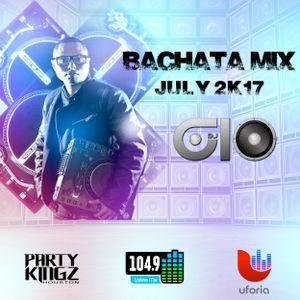 @DEEJAYGIO - BACHATA MIX - JULY 2K17