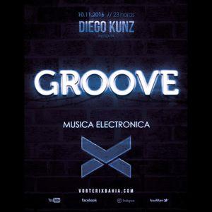 Groove #44 @ Vorterix Bahía (emitido el 10-11-17)