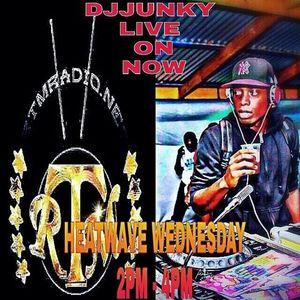 DJJUNKY HEATWAVE WEDNESDAY 2PM - 4PM ON @RTMRADIO_NET LIVE AUDIO VOL.12