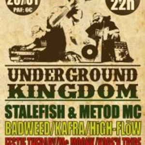 Underground Kingdom Party @ Marseille (FR) January 2012