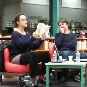 Entretien avec Agnès Desarthe, par GB, Médiathèque Benjamin Rabier, La Roche-sur-Yon, 5 février 2016