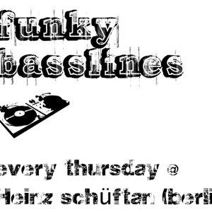funky basslines Sebastian Nielson's B-Day Bash @ Heinz Schüftan (05.05.12)