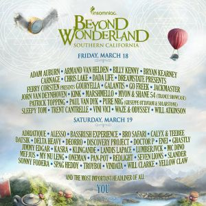 Beyond Wonderland SoCal ReCap