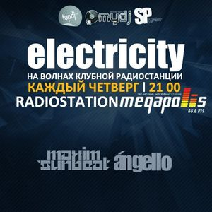 Electricity Podcast August part 1 (Mixed Dj Angello)
