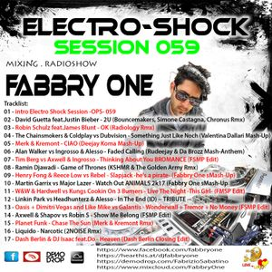 Fabbry One - Electro Shock Session 059 RadioShow2017