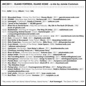 JWC2011 - Island Fortress, Island Home