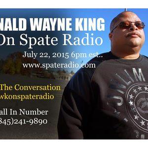 Jazz Bass player Donald Wayne King will be on Spate Radio July 22, 2015