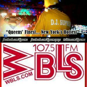 DJ Preme on 107.5 FM WBLS Thanksgiving Mastermix 2014